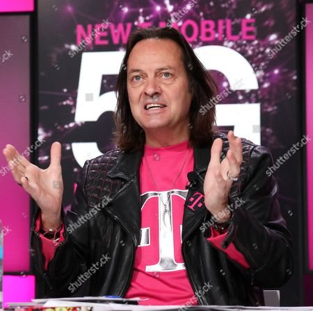 Editorial image of T-Mobile Project R, New York, USA - 06 Nov 2019