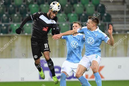 Editorial image of FC Lugano -Malmo FF, St. Gallen, Switzerland - 07 Nov 2019