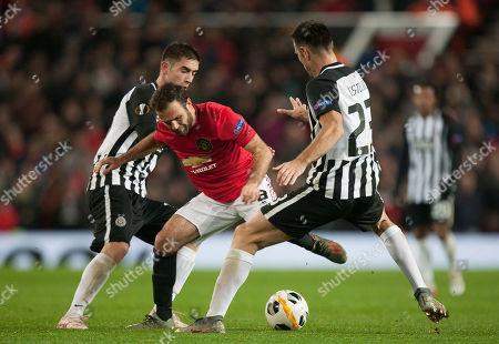 Editorial photo of Manchester United v Partizan, UK - 07 Nov 2019
