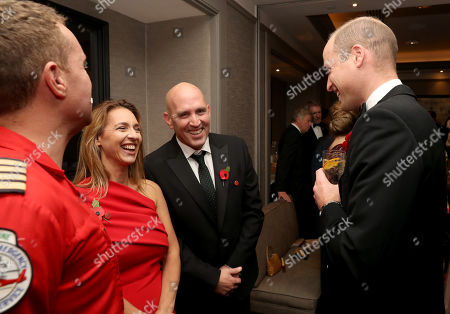 Editorial image of London's Air Ambulance Charity Gala, Rosewood Hotel, London, UK - 07 Nov 2019
