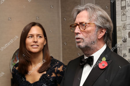 Eric Clapton attends the London's Air Ambulance Charity gala