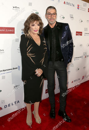 Editorial picture of Mark Zunino Atelier Fashion and Cocktail Reception to Benefit The Elizabeth Taylor AIDS Foundation, Arrivals, Los Angeles, USA - 07 Nov 2019
