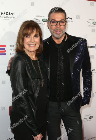 Linda Gray and Chaz Dean