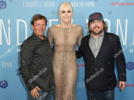 Steve Jones, Lindsey Vonn and Todd Jones