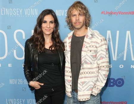 Stock Image of Daniela Ruah and Eric Christian Olsen