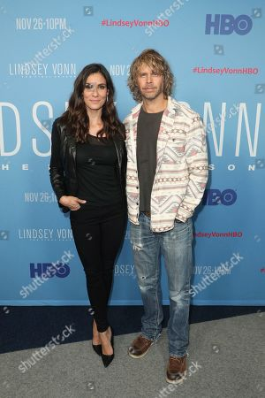 Stock Photo of Daniela Ruah and Eric Christian Olsen