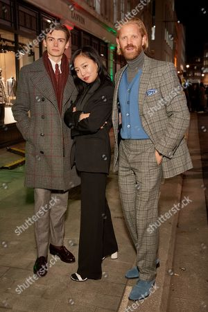 Stock Picture of Mathias le Fevre, Yuri Choi and Alistair Guy