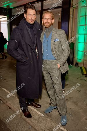 David Gandy and Alistair Guy