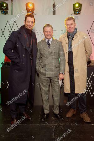 David Gandy, Jeremy Hackett and Julian Stocks