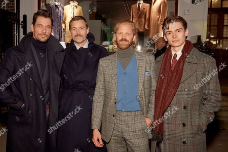 David Gandy, Patrick Grant, Alistair Guy and William Field