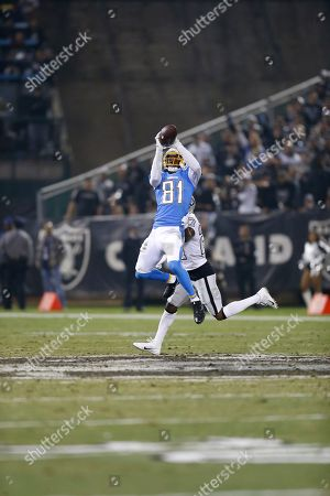 Editorial picture of Chargers Raiders Football, Oakland, USA - 07 Nov 2019