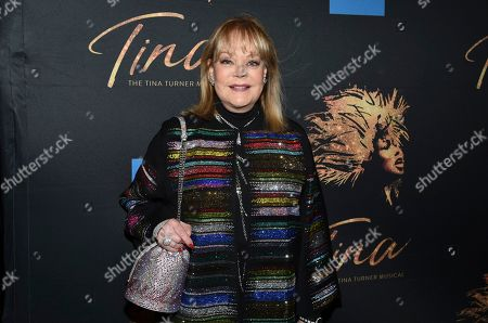 "Stock Photo of Candy Spelling attends ""Tina ñ The Tina Turner Musical"" Broadway opening night at the Lunt-Fontanne Theatre, in New York"