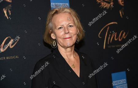 "Phyllida Lloyd attends ""Tina ñ The Tina Turner Musical"" Broadway opening night at the Lunt-Fontanne Theatre, in New York"