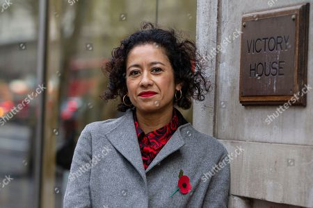 Editorial picture of Samira Ahmed employment tribunal, London, UK - 07 Nov 2019