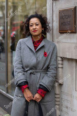 Editorial image of Samira Ahmed employment tribunal, London, UK - 07 Nov 2019