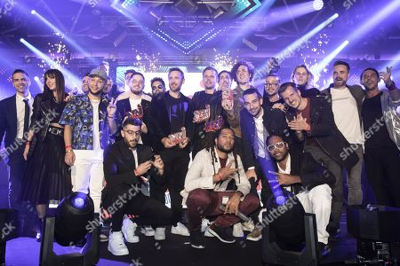 David of NRJ, Gaullin, Jax Jones, Tujamo, Prince Karma, AAZAR, David Guetta, Armin van Buuren, Ofenbach and The Avener
