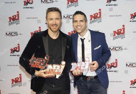 David Guetta and David of NRJ