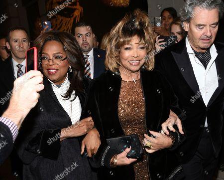 "Editorial photo of ""Tina - The Tina Turner Musical"" Broadway Opening Night, New York, USA - 07 Nov 2019"
