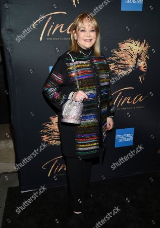 "Candy Spelling attends ""Tina - The Tina Turner Musical"" Broadway opening night at the Lunt-Fontanne Theatre, in New York"