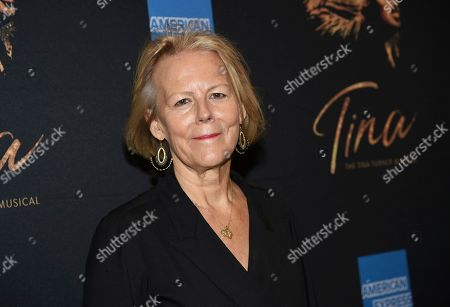 "Phyllida Lloyd attends ""Tina - The Tina Turner Musical"" Broadway opening night at the Lunt-Fontanne Theatre, in New York"