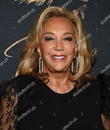 """Denise Rich attends """"Tina - The Tina Turner Musical"""" Broadway opening night at the Lunt-Fontanne Theatre, in New York"""