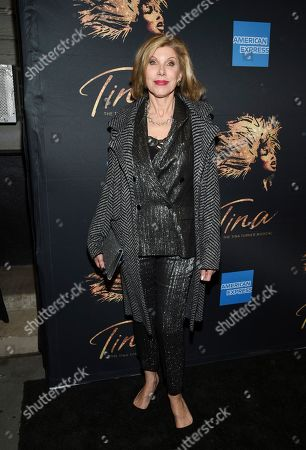 """Christine Baranski attends """"Tina - The Tina Turner Musical"""" Broadway opening night at the Lunt-Fontanne Theatre, in New York"""