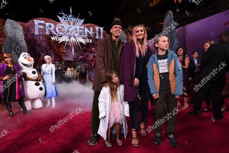 "Evan Ross, Ashlee Simpson, Bronx Wentz, Jagger Snow Ross. Evan Ross, from left, Jagger Snow Ross, Ashlee Simpson, and Bronx Wentz arrive at the world premiere of ""Frozen 2"" at the Dolby Theatre, in Los Angeles"