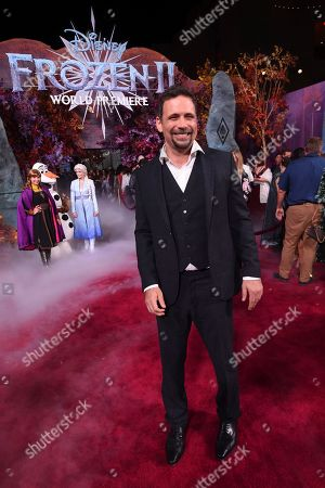 """Jeremy Sisto arrives at the world premiere of """"Frozen 2"""" at the Dolby Theatre, in Los Angeles"""