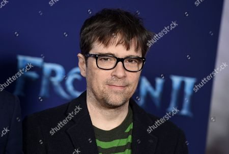 """Rivers Cuomo, of Weezer, arrives at the world premiere of """"Frozen 2"""" at the Dolby Theatre, in Los Angeles"""