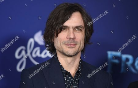 "Stock Photo of Brian Bell, of Weezer, arrives at the world premiere of ""Frozen 2"" at the Dolby Theatre, in Los Angeles"