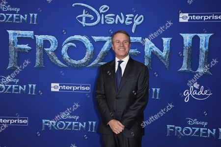 """Clark Spencer arrives at the world premiere of """"Frozen 2"""" at the Dolby Theatre, in Los Angeles"""