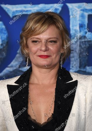 """Martha Plimpton arrives at the world premiere of """"Frozen 2"""" at the Dolby Theatre, in Los Angeles"""
