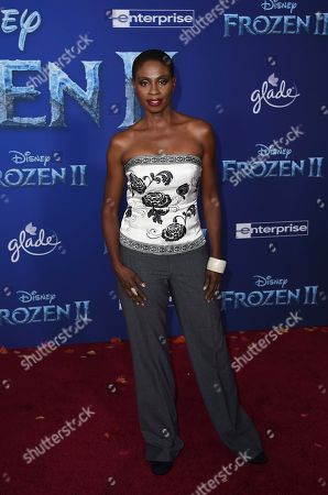 """Adina Porter arrives at the world premiere of """"Frozen 2"""" at the Dolby Theatre, in Los Angeles"""