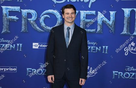 "Jason Ritter arrives at the world premiere of ""Frozen 2"" at the Dolby Theatre, in Los Angeles"