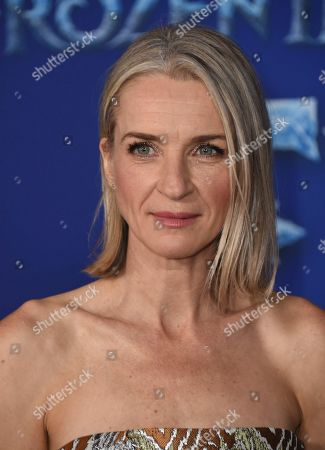 "Ever Carradine arrives at the world premiere of ""Frozen 2"" at the Dolby Theatre, in Los Angeles"