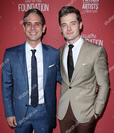 Stock Image of Greg Berlanti and Robbie Rogers