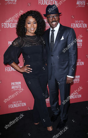 Angela Bassett and Courtney B Vance