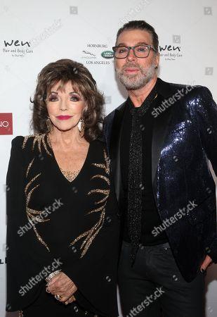 Joan Collins, Chaz Dean