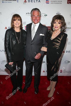 Linda Gray, George Hamilton, Joan Collins