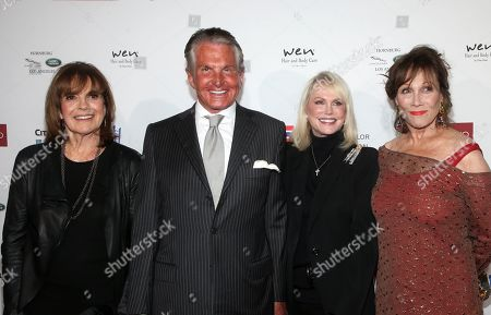 Linda Gray, George Hamilton, Kelly Day, Michele Lee