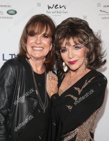 Stock Picture of Linda Gray, Joan Collins