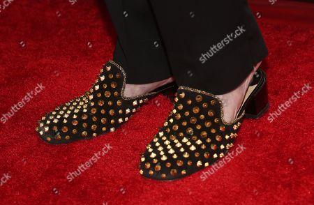 Morgan Fairchild, shoe detail