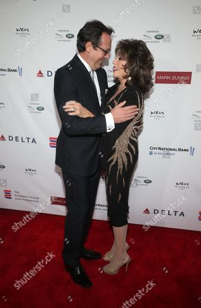Editorial photo of Mark Zunino Atelier Fashion and Cocktail Reception to Benefit The Elizabeth Taylor AIDS Foundation, Arrivals, Los Angeles, USA - 07 Nov 2019