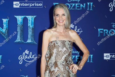 Ever Carradine poses on the red carpet prior to the world premiere of the movie 'Frozen II' at the Dolby Theatre in Hollywood, Los Angeles, California, USA, 07 November 2019. The movie is to be released in US theaters on 22 November 2019.