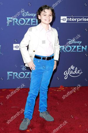 Editorial picture of World premiere of 'Frozen II' in Hollywood, Los Angeles, USA - 07 Nov 2019