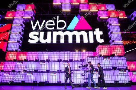 Editorial image of Web Summit, Lisbon, Portugal - 07 Nov 2019
