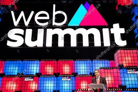 Editorial picture of Web Summit, Lisbon, Portugal - 07 Nov 2019