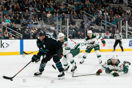 Editorial picture of WIld Sharks hockey, San Jose, USA - 07 Nov 2019