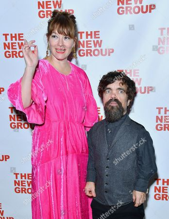 Stock Photo of Erica Schmidt and Peter Dinklage