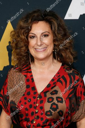 Kiwi Smith poses at the Academy Nicholl Fellowships in Screenwriting Awards and Live Read at the Academy of Motion Picture Arts and Sciences Samuel Goldwyn Theater on in Beverly Hills, Calif